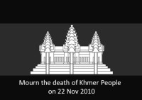 Mourn the death of Khmer People on 22 Nov 2010