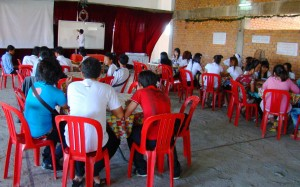 Youth gather to study bible
