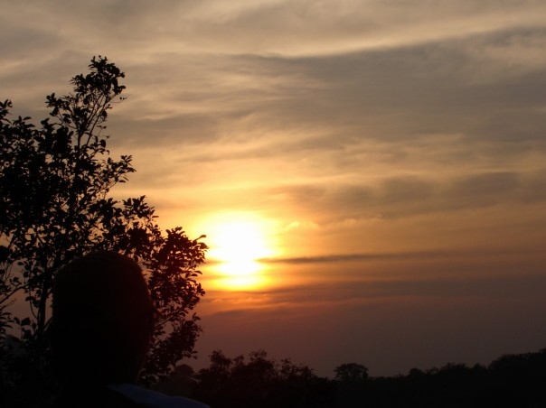 Sunset in Mondulkiri
