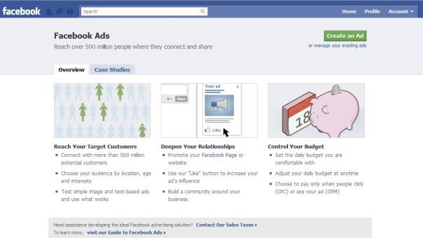Facebook ads sample