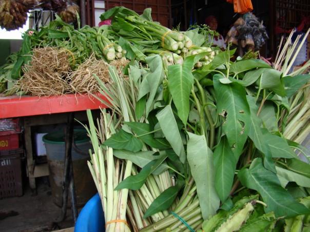 Cambodian market in Malaysia