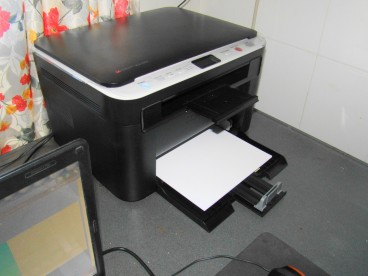 My new printer - Sumsung SCX 3200